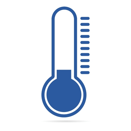 Thermometer Cold Blue Icon