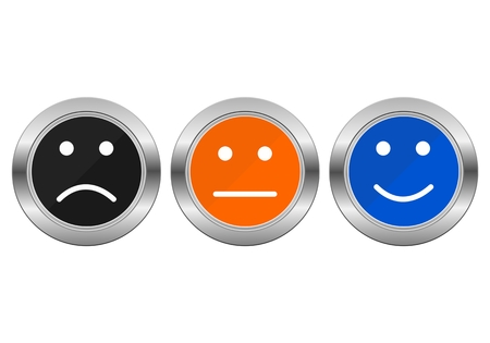 questionary: Survey Buttons business customer service feedback concept