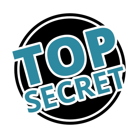 top secret: Top Secret black circle