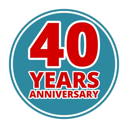 40 years: Anniversary 40 years