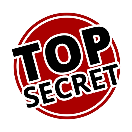 top secret: Top Secret red circle