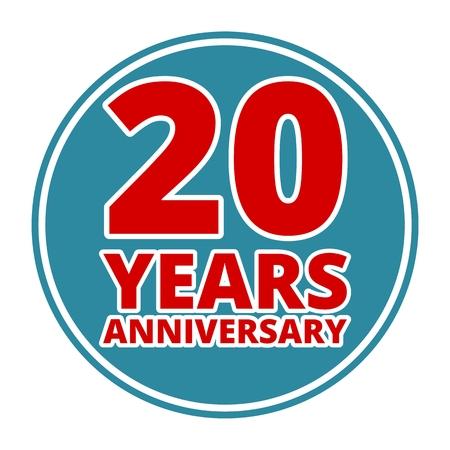30 to 40 years: Anniversary 20 years