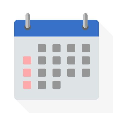 calendar icon: Calendar icon - Vector