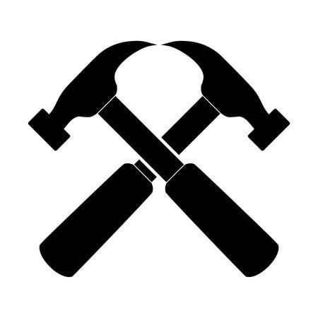 Hammer Icon Double
