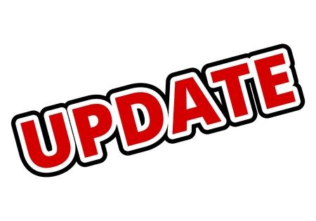 update: Update Button Illustration