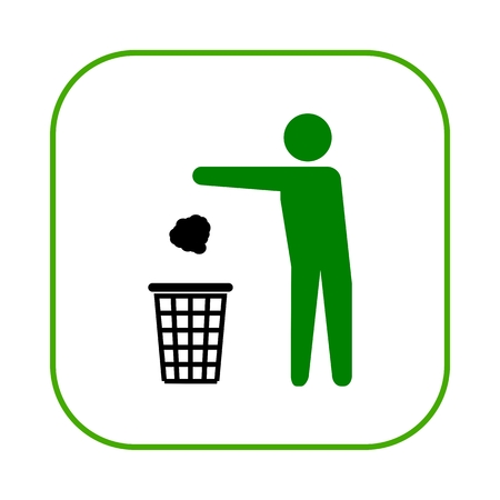 recycling symbol: Garbage Recycling Symbol