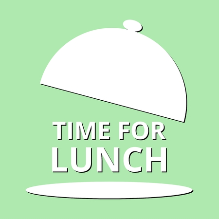breakout: Time For Lunch green background