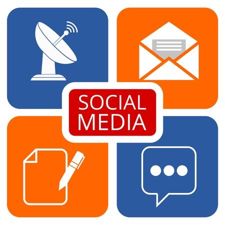 media network: Social media network abstract