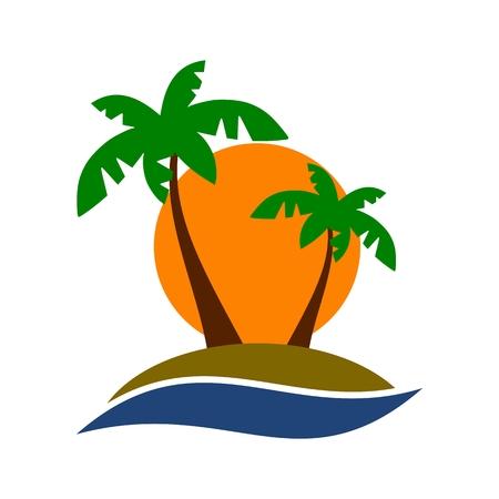 pictogramme: Palm tree icon
