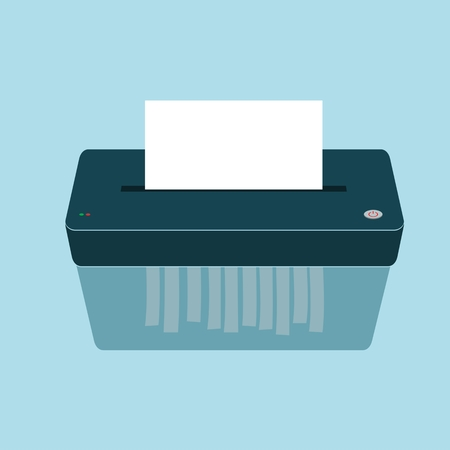 Paper Shredder Icon Vectores