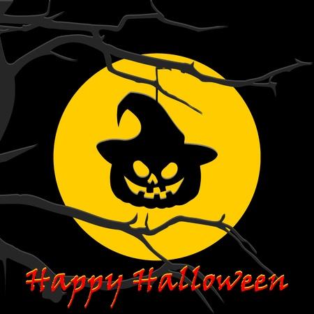 helloween: Full Moon and Helloween pumpkin