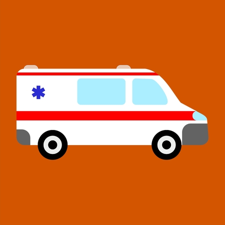 disaster relief: Ambulance car icon
