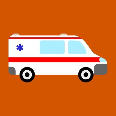 ems: Ambulance car icon
