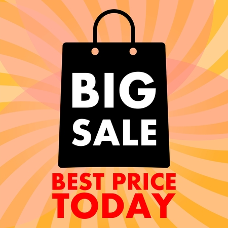 catchy: Big sale icon Illustration