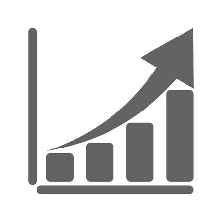 Growing icône graphique Vecteurs