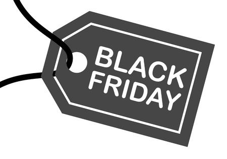 sell out: Sale design Black Friday Illustration