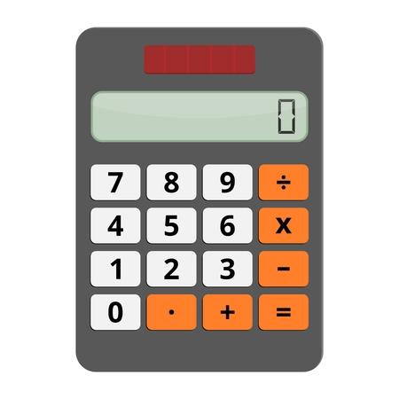 Calculadora del icono del vector Ilustración de vector