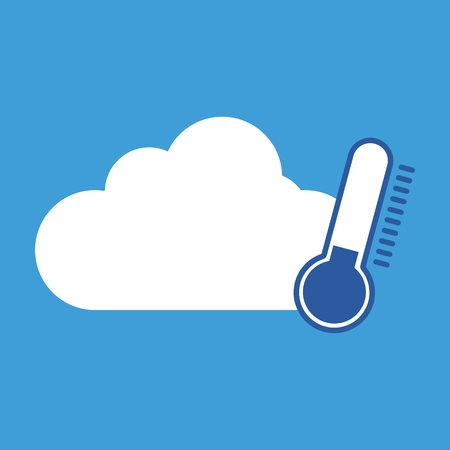 cold weather: Weather symbol cold