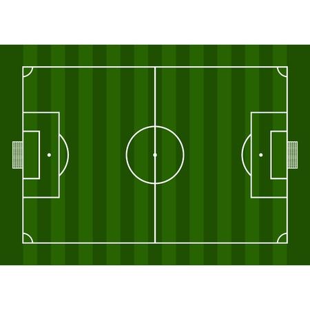 soccer field: Football field