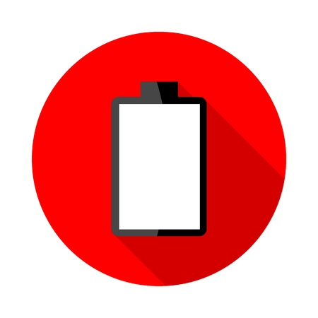 electrochemical: Battery charging icons Illustration