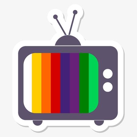 retro tv: Retro TV background