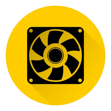 aeration: Exhaust fan icon