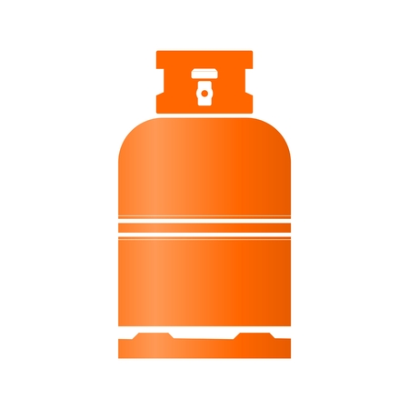 lpg: Gas Bottle orange