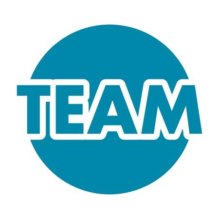 at sign: Team Sign
