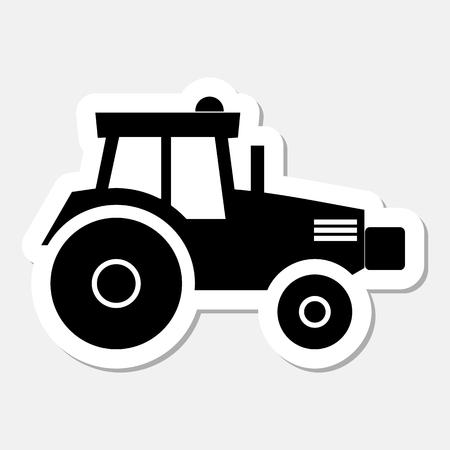 humus: Tractor sticker