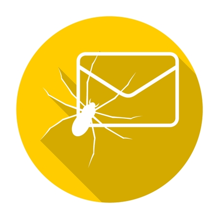 spam: Spam letter with spiders