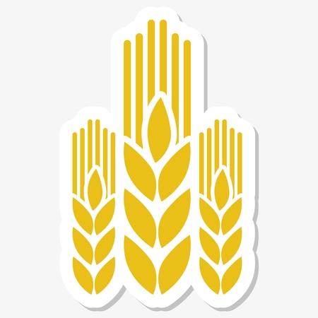oats: Wheat logo