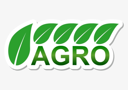 agro: Agriculture design agro sticker Illustration