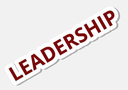 at sign: Leadership sign Illustration