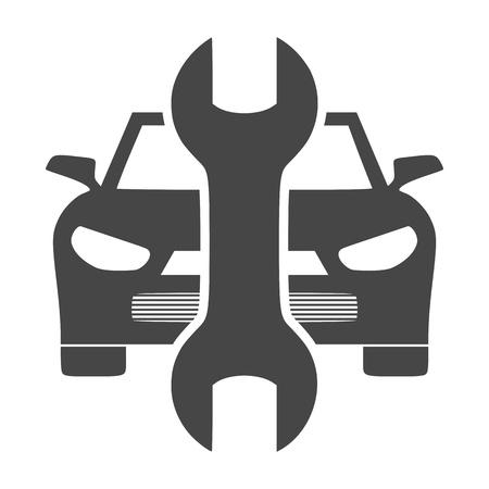 auto repair: Car service vector icon, Auto repair icon