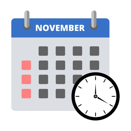 Calendar icon november, Meeting Deadlines icon