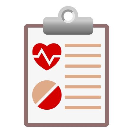medical report: Medical report Illustration