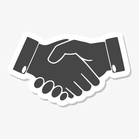 partnership icon: Partnership icon sticker
