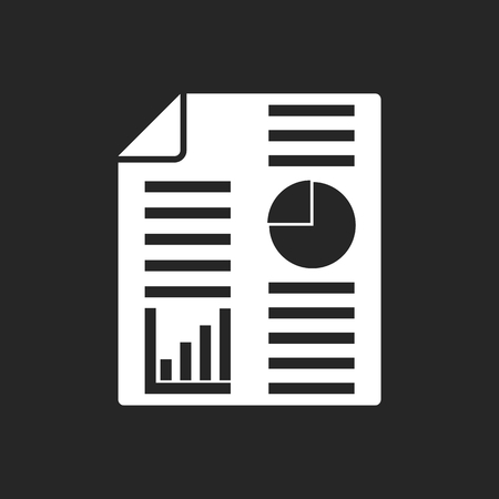 apprise: Business report icon