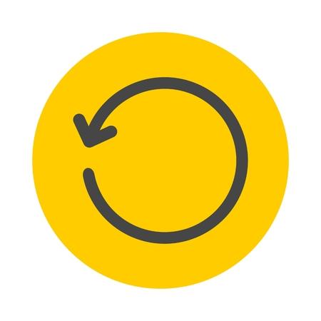 refrescar: icono de actualización
