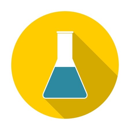 glassware: Glassware icon with long shadow