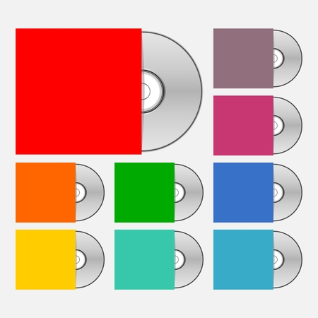 compact disk: Compact disk icons for web