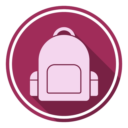 offspring: icon, backpack, bag, back, packing, school, grade, vector, binder, solid, loaded, isolated, lock, green, red, new, yellow, culture, success, symbol, supplies, offspring, fashion, teaching, contour, learning, equipment, september, stuffed, illustration, yo