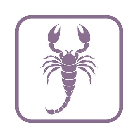 predatory insect: Scorpion icon
