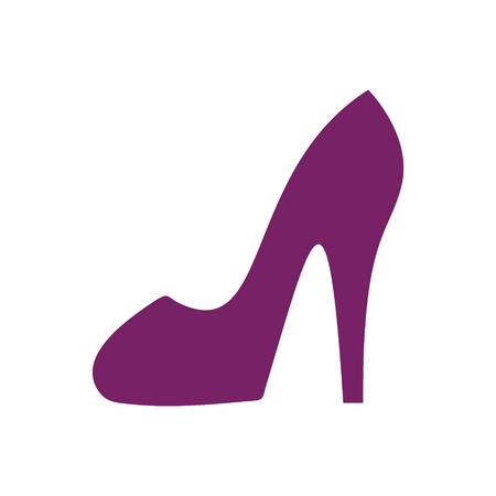 woman shoes: woman shoes vector icon Illustration