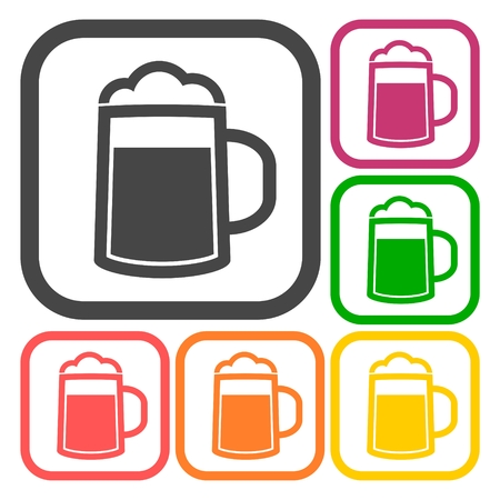 guinness: Beer icons set