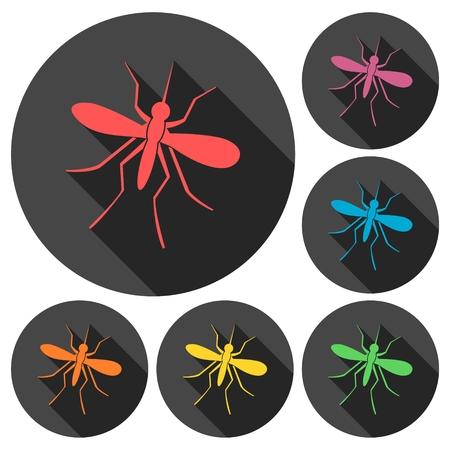 no mosquito: Mosquito button sign