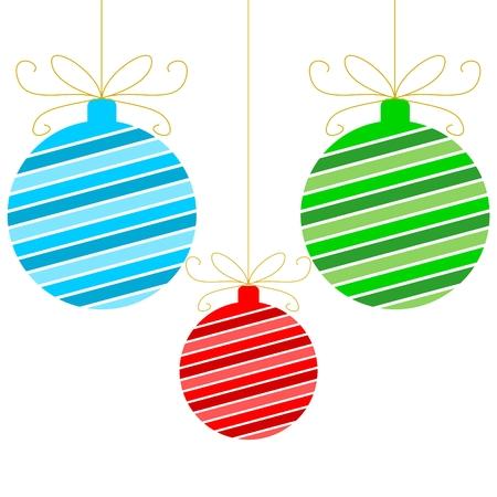 Christmas ball Vetores