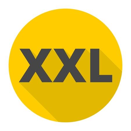 xl: XXL icon with long shadow