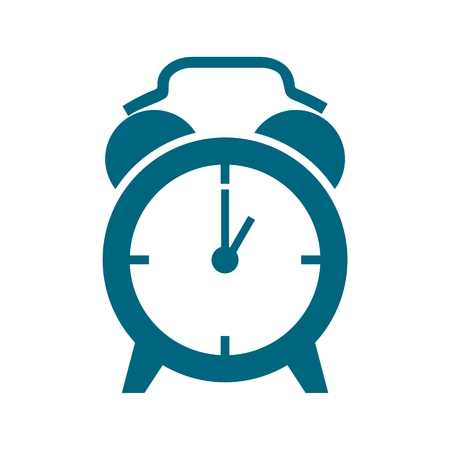 Alarm clock icon 向量圖像