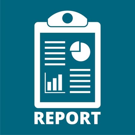 report icon: Business Report icon Illustration